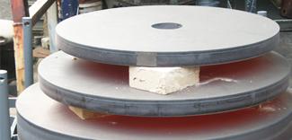 ステンレス鋼板の応力除去